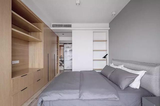 100平方简约风格装修图片,舒适有品味,也可以说是简约风里的低奢风.