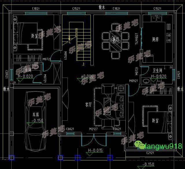 3款二层实用图纸自建房房屋v二层图纸小区农村规划设计经典别墅图片