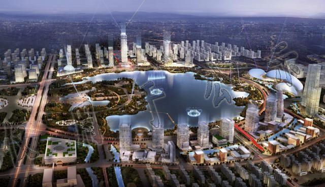 商丘市cbd,火车站高铁核心区城市设计方案出炉 多图