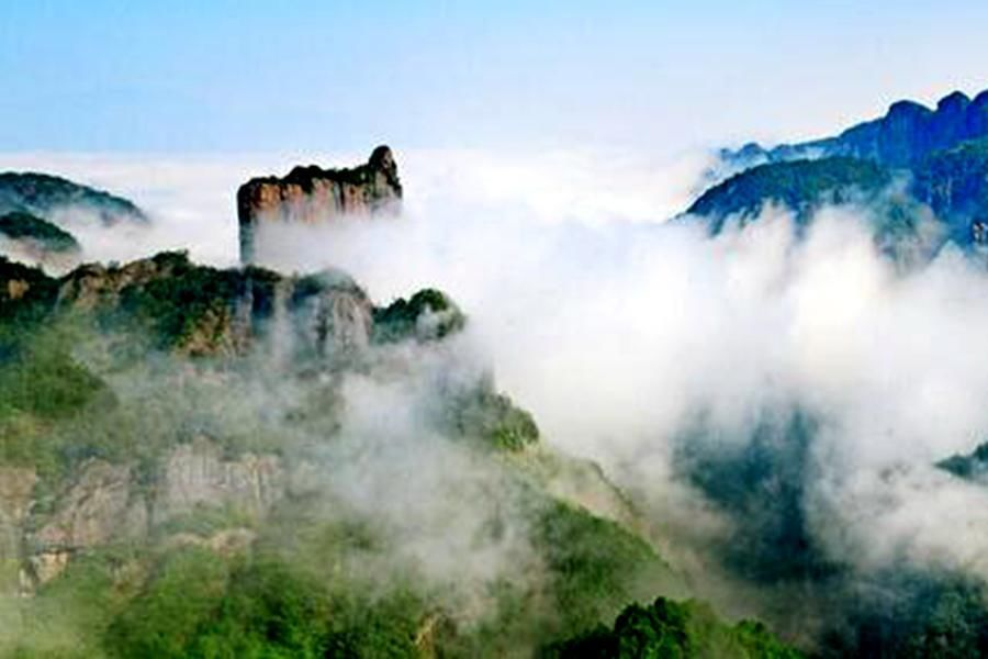 14.台州神仙居景区