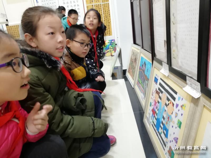 忻州市长征小学养成书画中小学生首届大赛优秀教案学习教育参观习惯小学生图片
