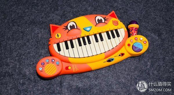 女儿的儿童节礼物: b.toys 比乐 大嘴猫电子琴晒单图片