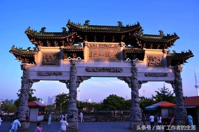 徐州市云龙山上
