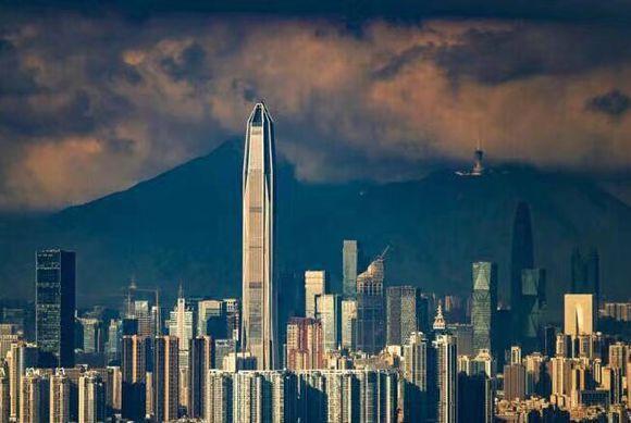 风景远景图片大全高楼