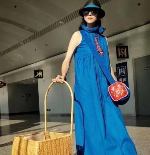 杨丽萍提着竹篮到豪车展,令众人另眼相待,艺术家的世界高攀不起