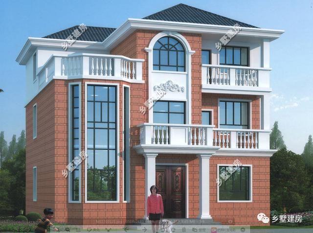 二层三层农村自建小别墅,简洁大气,你喜欢的样子我都有!