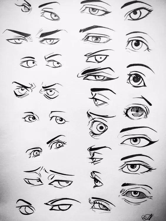 漫画人物的眼睛,应该如何画?