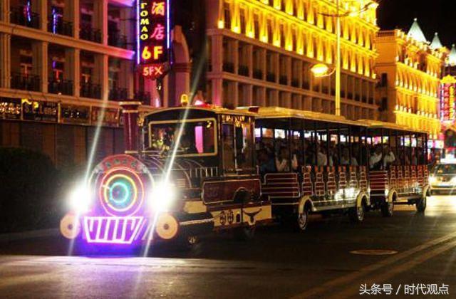 上世纪初这座县级城市的夜景,居然能够秒杀灯火阑珊的夜上海!