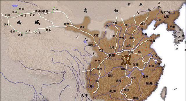 历史上压制蛮夷四百年的汉朝有多强大?一汉当五胡只是基本操作