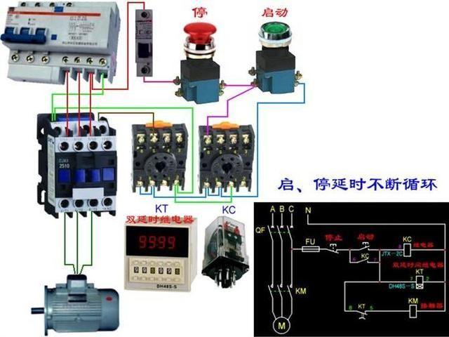 最齐全电路开关电表 断路器电机接线图基本不求人,有了这篇文章基本所有的最齐全电路开关电表 断路器电机接线图都能搞定了,希望看完多多转发,多多收藏。 1、电机:           2、灯三控接线图 双控灯 三联开关接线图 三个位置控制一个灯,需要两只双控开关加一只中途开关; 四个位置控制一个灯,需要两只双控开关加两只中途开关; 五个位置控制一个灯,需要两只双控开关加三只中途开关,以此类推。在电线排设上,同双控的排线一样都是排双线,只要注意两个双控开关装配在双线的前后两端,中途开关装配在中间即可(中途开关