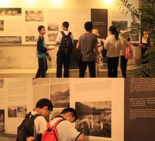 莫外女生:莫外初一初中参观黄郛纪念馆,登莫干初中扒胸罩学生被图片