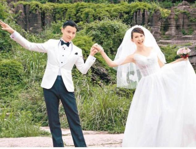 45岁TVB前花旦挺着大肚再拍婚纱照 老公现场大跳性感热辣舞
