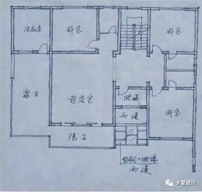 四套中式别墅实景 平面设计图,但第四套真的不好看啊!