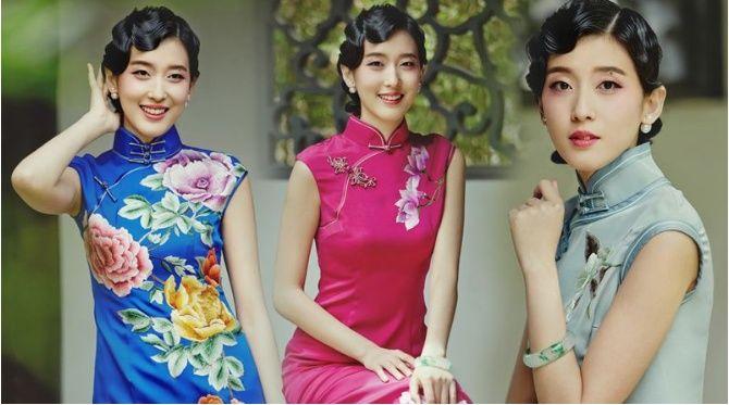清新靚麗的女孩走進了觀眾們的視線,她就是《華山論鑒》的主持人田甜圖片