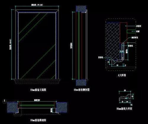 cad教程:如何看懂建筑木工图纸?