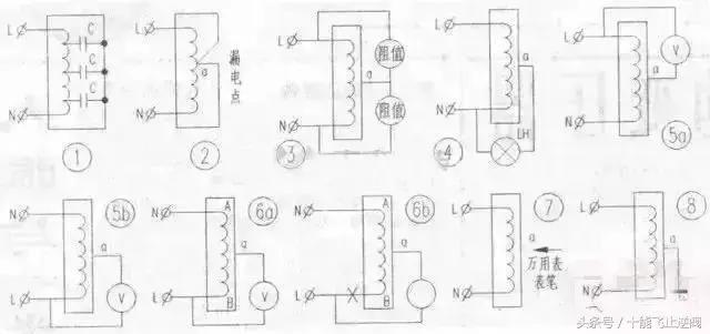 还有就是变压器处零线与地线的接头是否安好 火线用感应电笔查出带36v