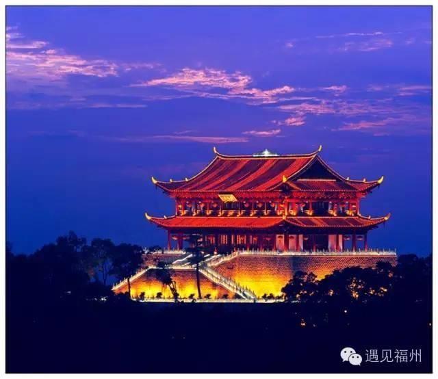 去镇海楼俯瞰福州城美丽风景
