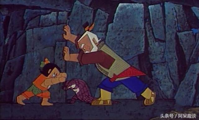 葫芦兄弟:其实穿山甲跟葫芦娃的爷爷都是比较不错的高手