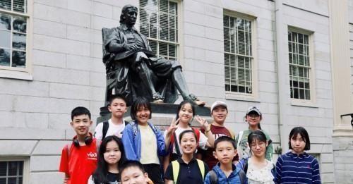 探访哈佛大学走进波士顿电台 家长:这样的游学很有意义