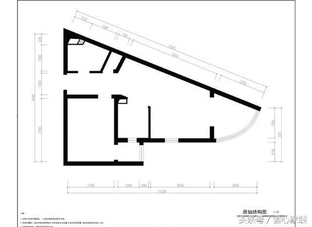 本案为异形房屋设计,从而合理的格局规划及人性化的储物收纳自然成为