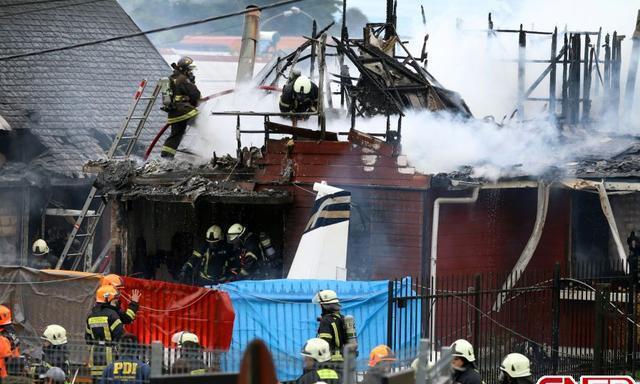 智利南部一小型飞机坠毁至少6人死亡