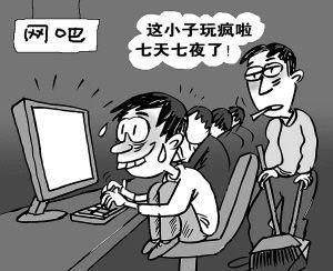 网络成瘾对青少年的各种损害