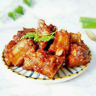 #排骨糖醋挑战赛#精品菜谱(中餐厅版)梦见别人生猪肉吃图片