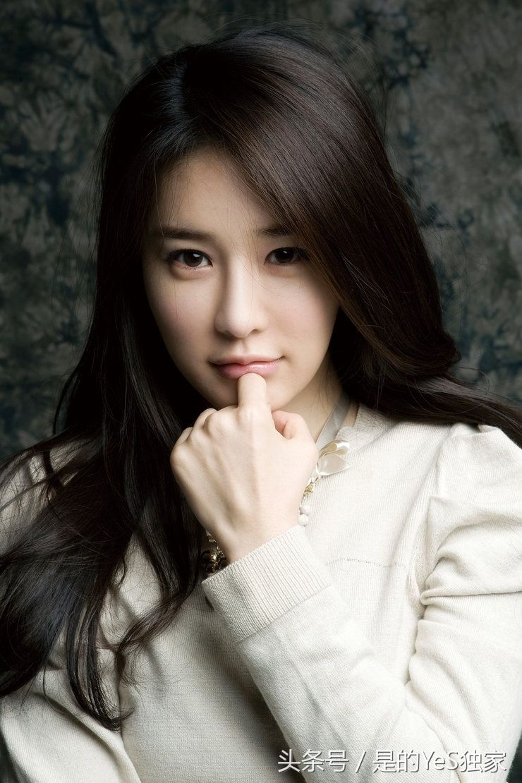 这就是韩国女星刘仁娜,女神认准了一件事就要