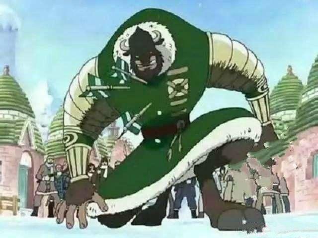 海贼王:五位大将绿牛,第3版比凯多更霸气,最后