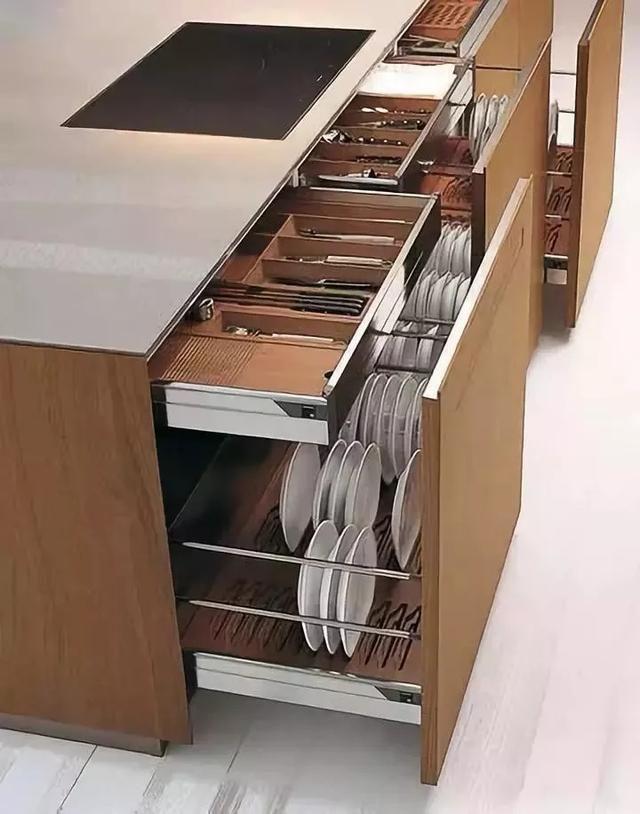 橱柜设计,不仅要好看的外观,更要设计合理的内部结构!