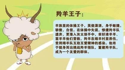 喜羊羊与灰太狼,我觉得最帅的羊不是喜羊羊而是他们图片