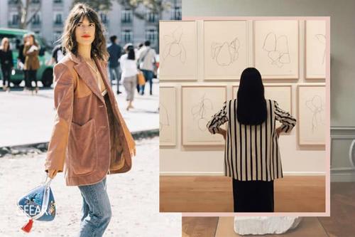 想共赴一场美术馆之约,选择这些单品衬托出你的艺术品味吧!