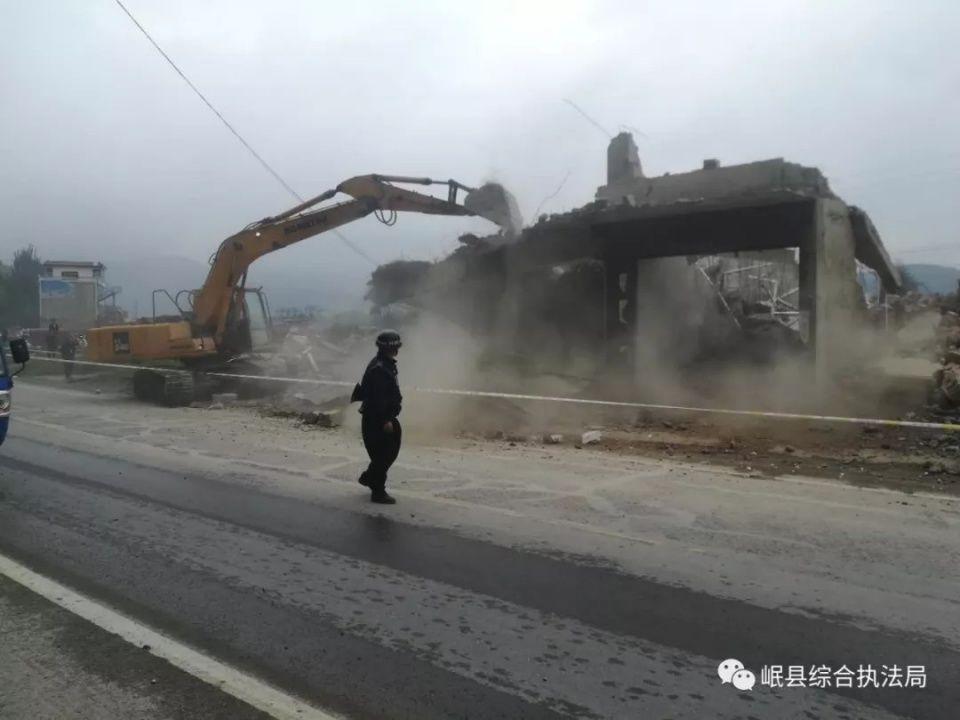 【直击现场】拆违治乱零容忍岷县综合执法局