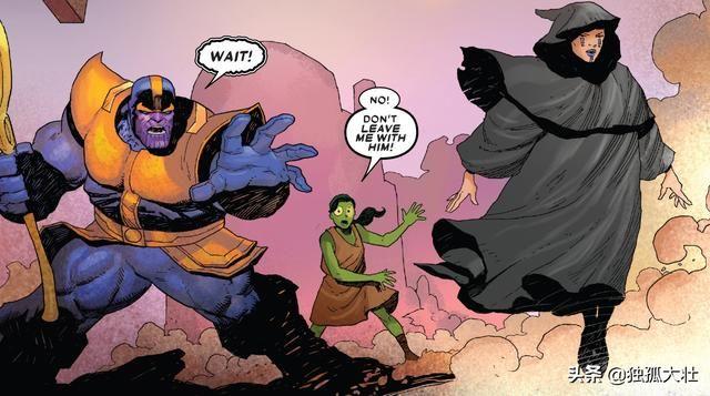 《灭霸》疯泰坦收养卡魔拉的真正原因,她也是