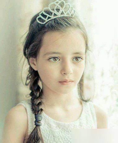 11款女大童女生美丽的发型!刘海编发教程简易图片