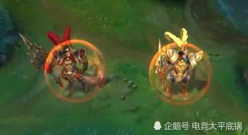 :三款黄金甲皮肤穿衣,短发特效,狼人赵信皇子玩满分直刘海上线图片