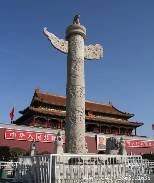 北京天安门门前的两个石柱背后究竟有什么用?了解真相