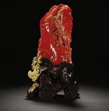 中国最贵的石头鸡血石