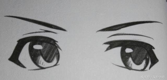漫画中人物眼睛的画法图片