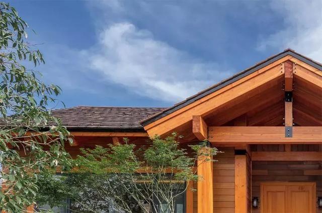 木结构别墅的奢华