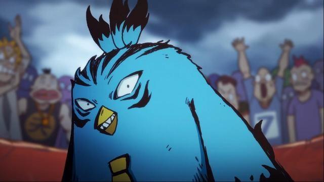 大肥鸡参加斗鸡比赛打败山鸡王,鸡大保鸡中之霸的名头是这么来的