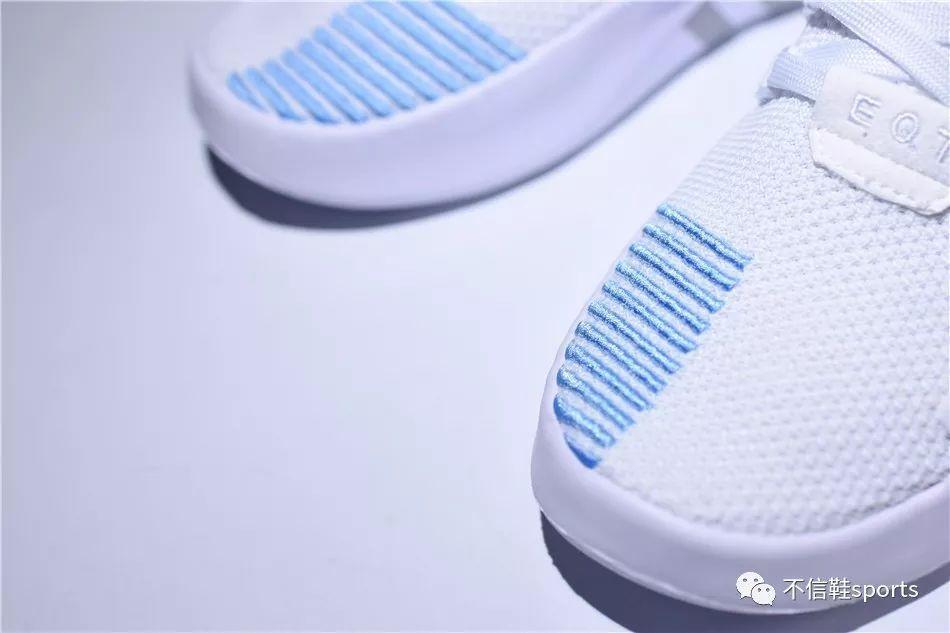 阿迪达斯 adidas eqt basketball adv跑鞋真假鉴定技巧 一个细节对比看真假