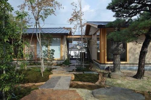 日式禅意风格庭院大汇总,从铺装到水景,应有尽有!图片