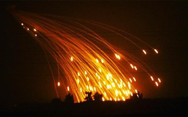 美国用白磷弹空袭叙利亚 叙一怒之下告到联合国