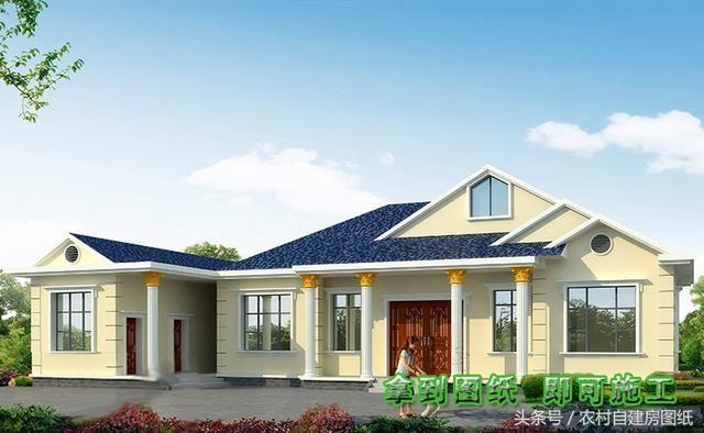 6款農村別墅設計圖,帶獨立廚房有柴火灶,開春建房不用愁了