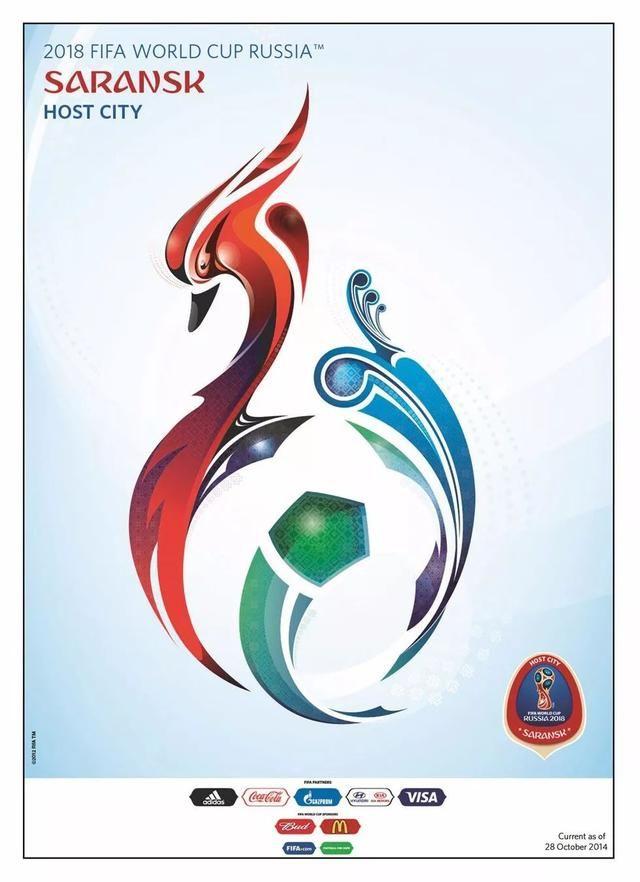 2018年世界杯主办城市海报,你将在哪个城市观战?