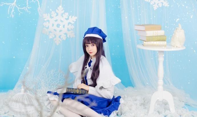 可爱小仙女白色丝袜展现清澈纯真的美插图