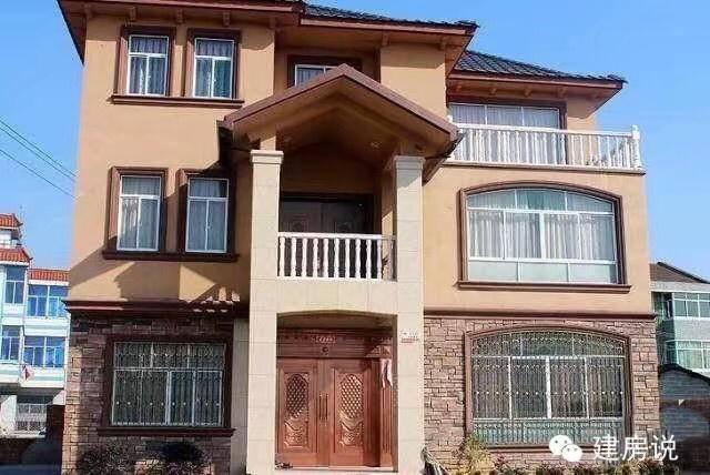 三层别墅外墙砖搭配 别墅外墙砖颜色搭配 高档别墅外墙砖效果图 独栋别墅