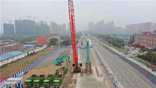 南通轨交2号线开工,为建设上海大都市北翼门户提供支撑