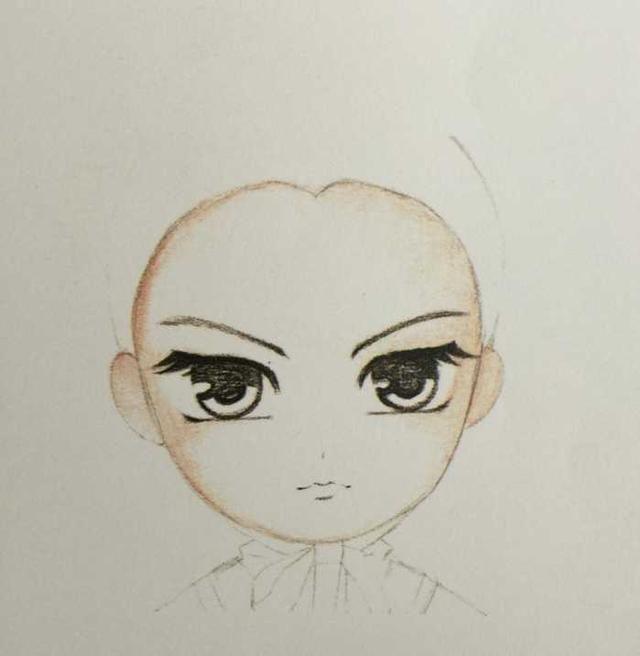 q版古風娃娃手繪,簡單完整步驟教程